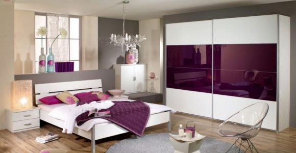 Schlafzimmer Bett 180 X 200 Cm Alpinweiss Glas Brombeer Woody 33 with regard to dimensions 1250 X 875
