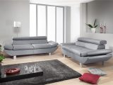 Sofa Garnitur Carrier Polstermbel Mit Relaxfunktion In Grau in proportions 1500 X 844